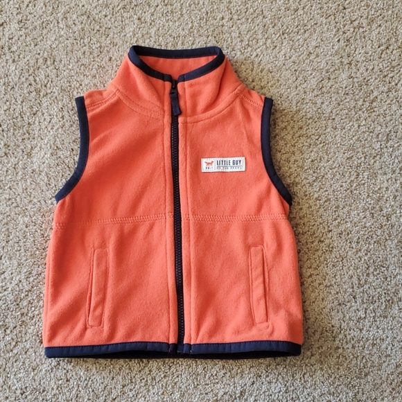 Carter's 6 month fleece vest